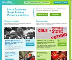 Actuable, una plataforma española para campañas ciudadanas 2.0: crea peticiones, suma fuerzas, provoca cambios