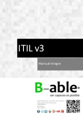 Manual ITIL V3 Integro by Sergio Ríos Huércano