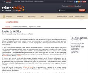 14ava Región Defensivo Valdivia (Educarchile)