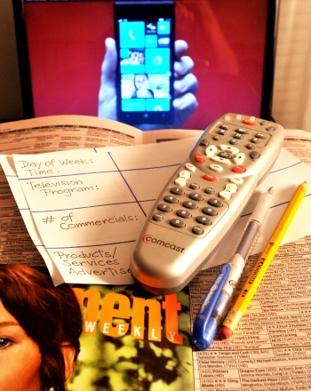 TV Commercials and Advertising Psychology Experiment