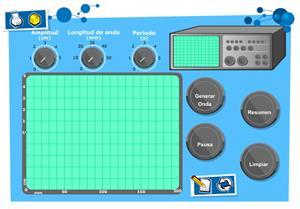 Laboratorio virtual de ondas . Física y Química para 4º de Secundaria