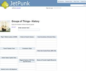 Groups of Things - History