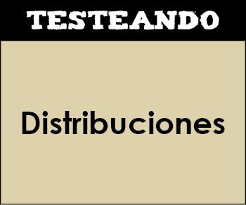 Distribuciones. 1º Bachillerato - Matemáticas (Testeando)