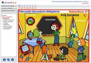 Polígonos. Matemáticas 1º Secundaria