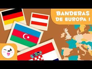 Las banderas de Europa I