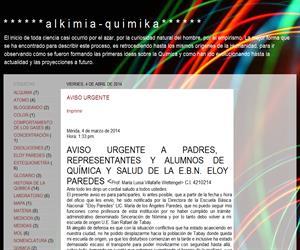 Alkimia-quimika: química para secundaria