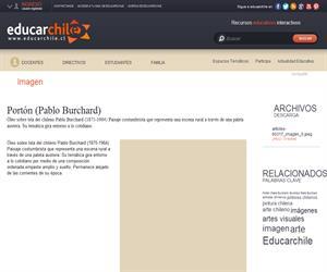 Portón (Pablo Burchard) (Educarchile)