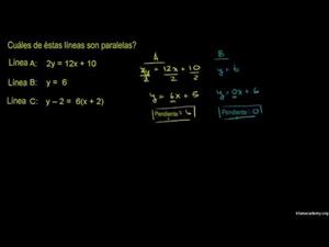 Líneas paralelas 3 (Khan Academy Español)