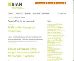 Banca y Web Semántica. BIAN: Banking industry arquitecture network
