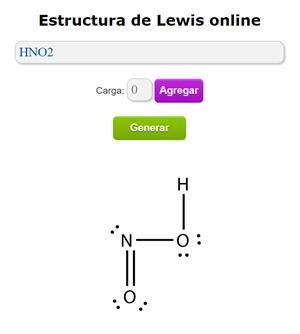 Generador de Estructura de Lewis online
