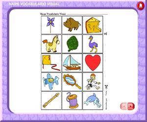 Naipe Vocabulario Visual (Educarchile)