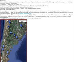 Un mapa para Martina