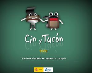 Cin y Turón. Educación vial (DGT)