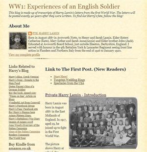 Cartas de un soldado que combatió en la I Guerra Mundial