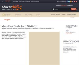Manuel José Gandarillas (1789-1842) (Educarchile)