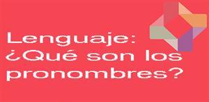 ¿Qué son los pronombres? (PerúEduca)