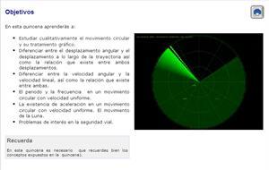 El movimiento circular. Física para 4º de Secundaria