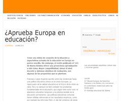 ¿Aprueba Europa en educación? | Aceprensa
