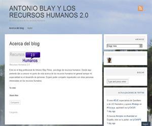 ANTONIO BLAY Y LOS RECURSOS HUMANOS 2.0