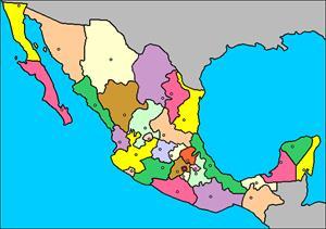 Mapa interactivo de México: estados y capitales (luventicus.org)