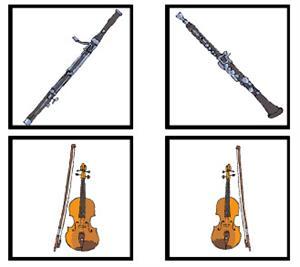Instrumental musical ensambles