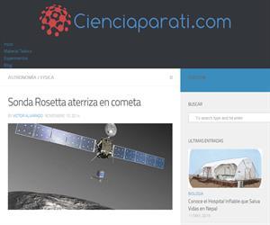 Sonda Rosetta - Interesante articulo con infografía sobre la misión