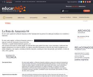 La Ruta de Amazonía 04 (Educarchile)