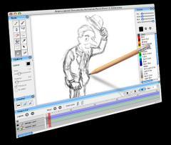 Pencil, aplicación para realizar animaciones por ordenador
