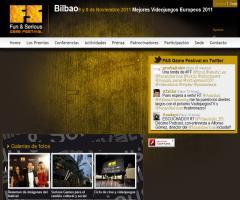 Evento 'Fun & Serious Game Festival' (Bilbao, Noviembre 2011)