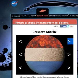 Rompecabezas del Sistema solar (Nasa)