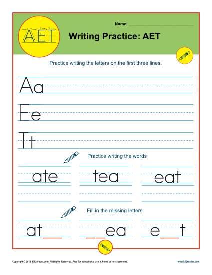 Writing Practice: AET