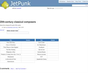 20th-century classical composers