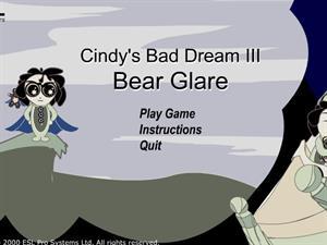 Bear Glare, un juego para trabajar el presente continuo en inglés