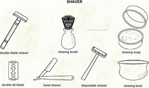 Shaver  (Visual Dictionary)
