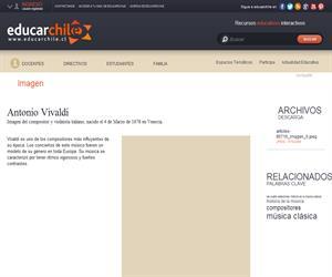 Antonio Vilvaldi (Educarchile)