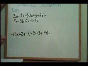 Operaciones Algebraicas Suma, Resta, Multiplicación y División