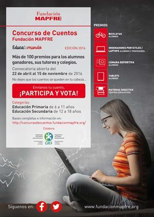 Educatumundo: Concurso de Cuentos Internacional (Fundación MAPFRE)