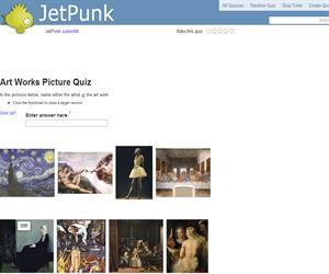 Art Works Picture Quiz
