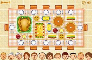 Thanksgiving Dinner, un juego para desarrollar pensamiento crítico y habilidades de clasificación
