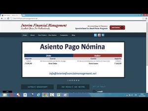 Vídeo Macros Excel – VBA 35.- UDF´s Asiento Pago Nómina