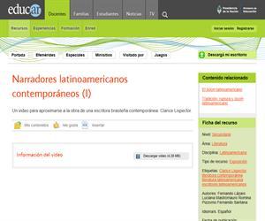 Narradores contemporáneos latinoamericanos I