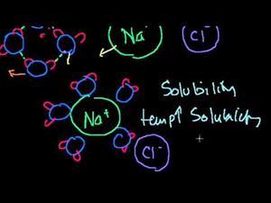 Solubilidad (Khan Academy Español)