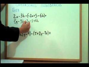Operaciones Algebraicas: Suma, Resta, Multiplicacion y Division