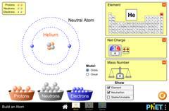 Constrúe un átomo