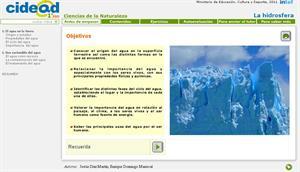 La hidrosfera (cidead)
