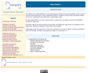 Fracciones I (Descartes)
