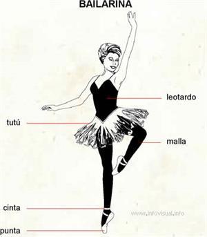 Bailarina (Diccionario visual)