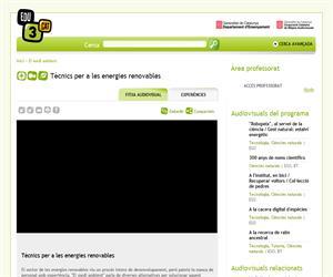 Tècnics per a les energies renovables (Edu3.cat)