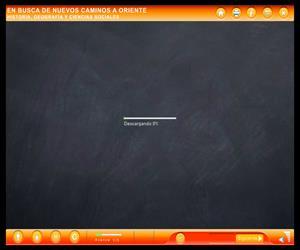 Objeto Digital de Enseñanza-Aprendizaje: En Busca de Nuevos Caminos a Oriente (Educarchile)