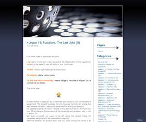 Lecciones de Matemáticas para Educación Bilingüe (ESO)